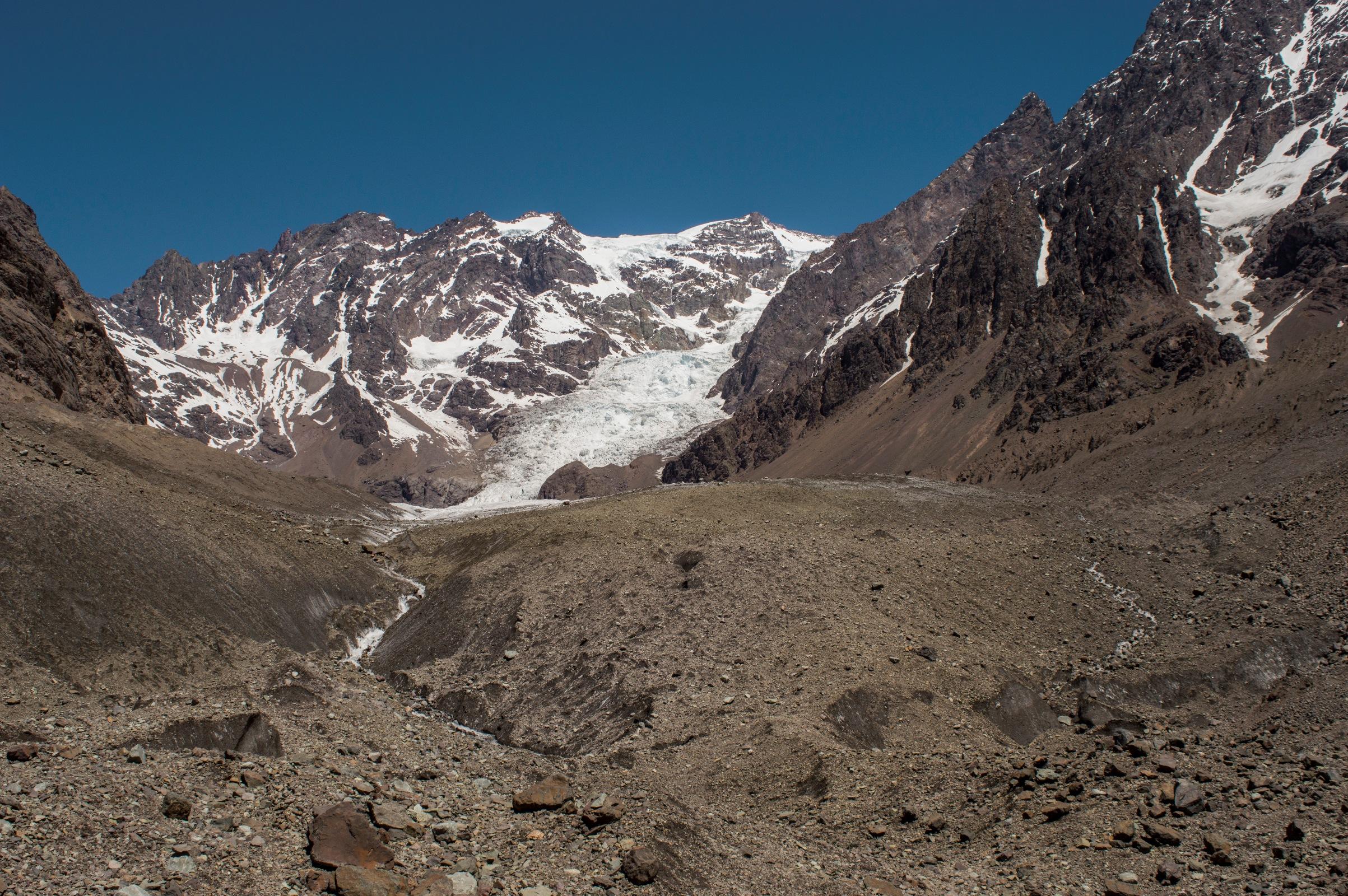 Glaciar Juncal Norte