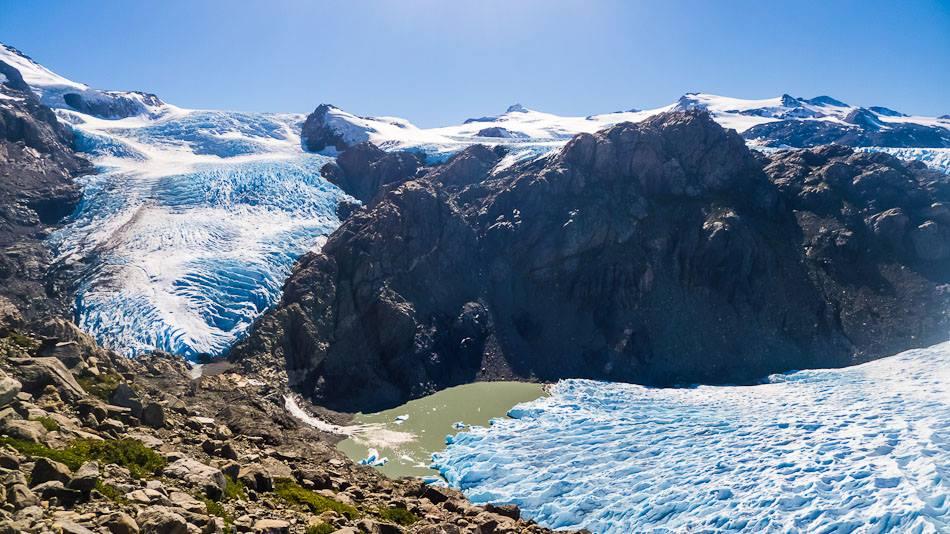 Glaciares del PN Torres del Paine: Glaciar Pingo