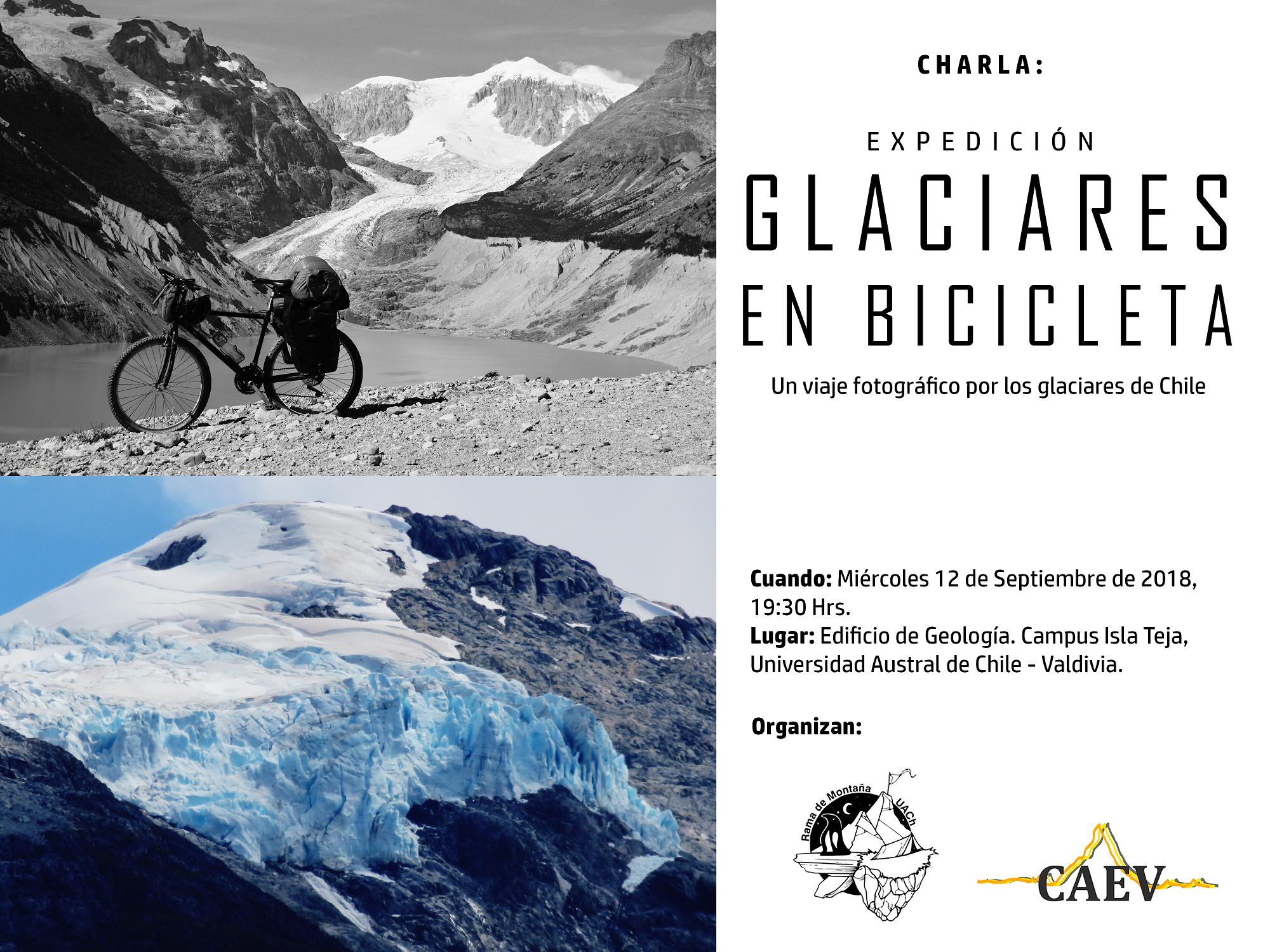 Charla sobre el Proyecto Glaciares en Bicicleta en Valdivia