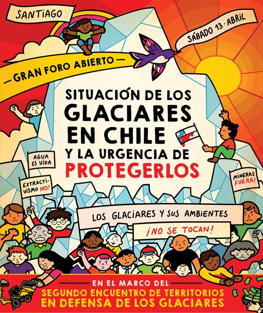 Foro: «Situación de los glaciares en Chile y la urgencia de protegerlos»