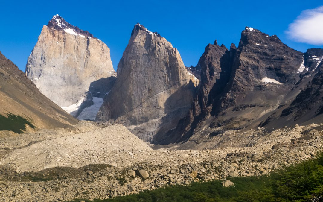 Keys to understand the evolution of glaciers through the landscape: Moraines