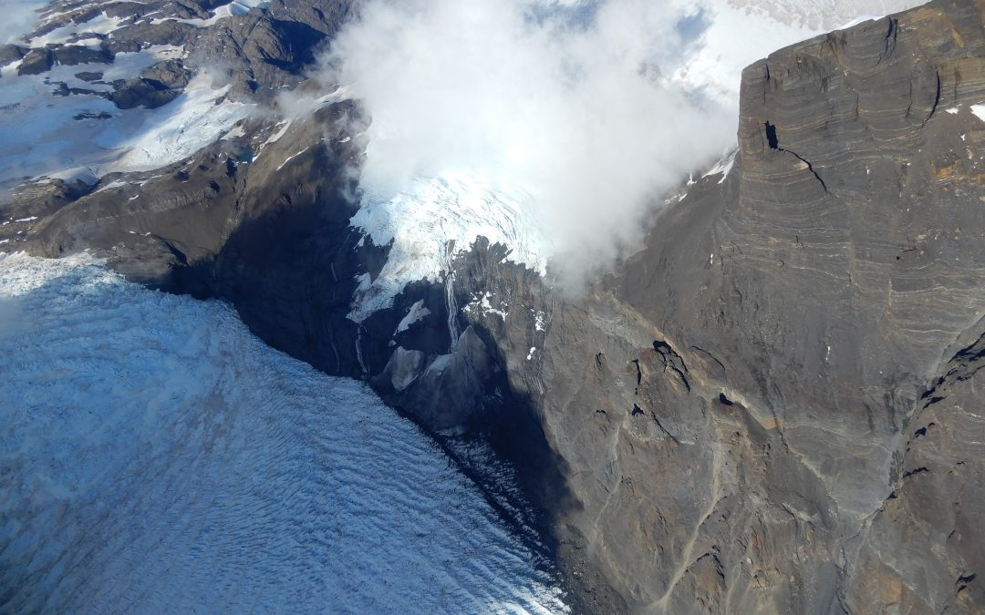 Fractura en Campos de Hielo Sur separa un área de 208 km2 de glaciares