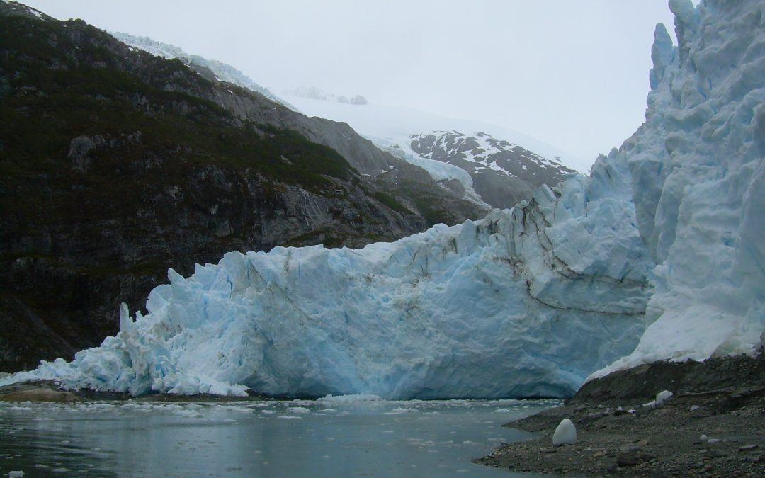 The retreat of the Serrano glacier in the Alberto de Agostini NP increases
