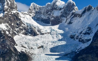 Precipitation plays a critical role in how glaciers sculpt their environment