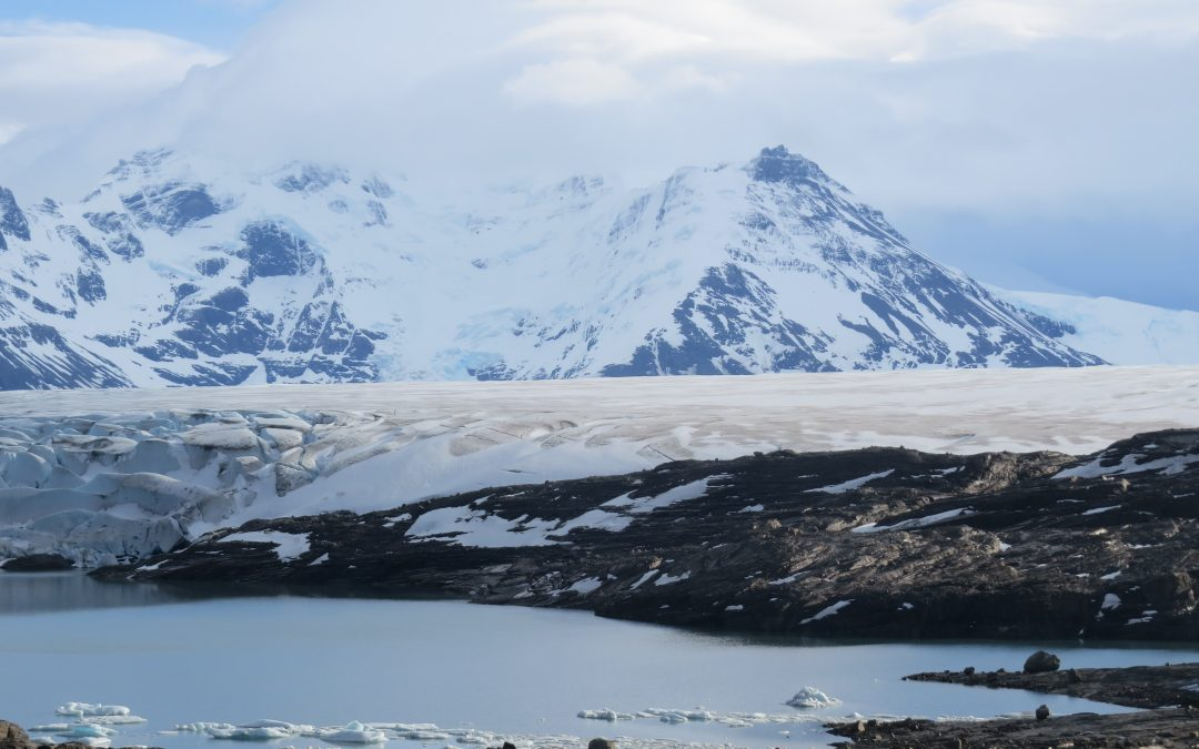 Glaciar Tyndall: Cuna de Ictiosaurios
