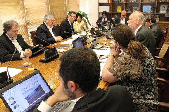 Sesión por ley de Glaciares en Comisión de Minería y Energía, 8 de enero 2020