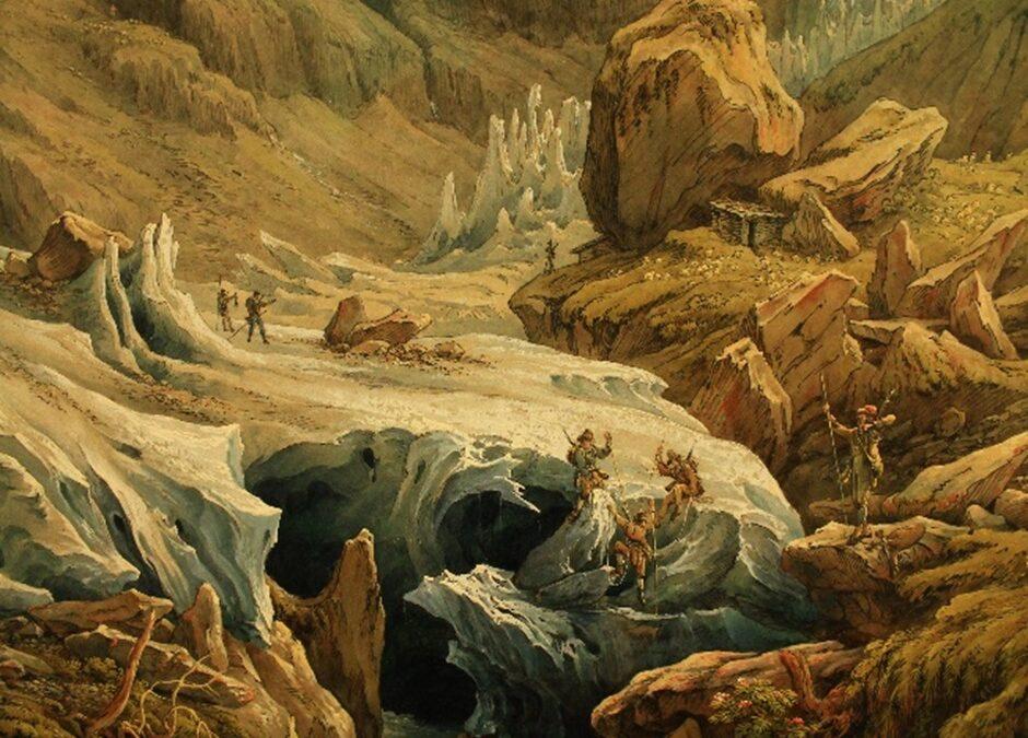 Glaciares y montañas a través del arte