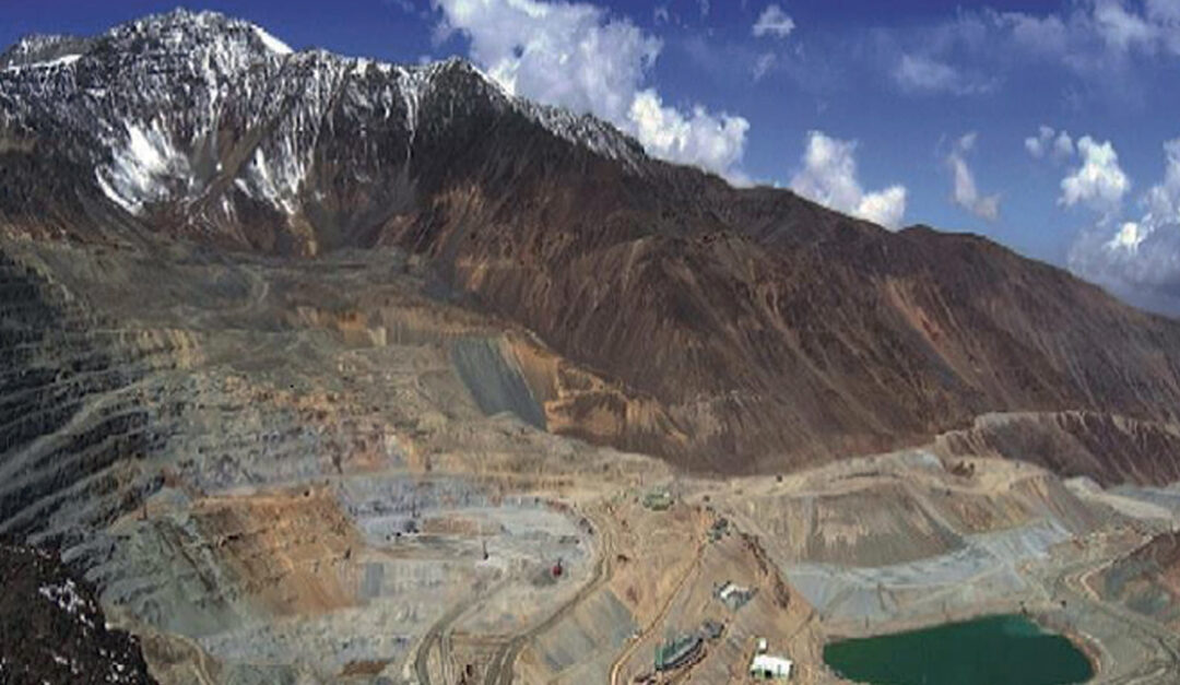 Mining operations that have irreversibly intervened glaciers in Chile