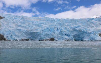 Glaciares de la isla Santa Inés: región de hielos y ballenas