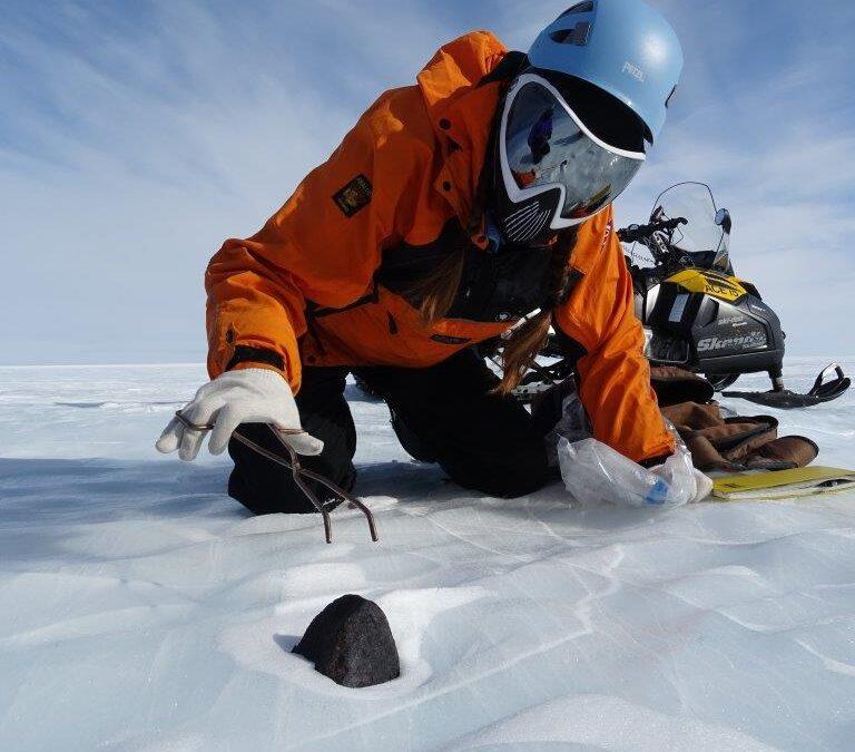 Los glaciares Antárticos, un gran almacén natural de meteoritos