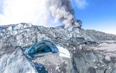 Complejo Volcánico Planchón-Peteroa: Glaciares binacionales en retroceso.