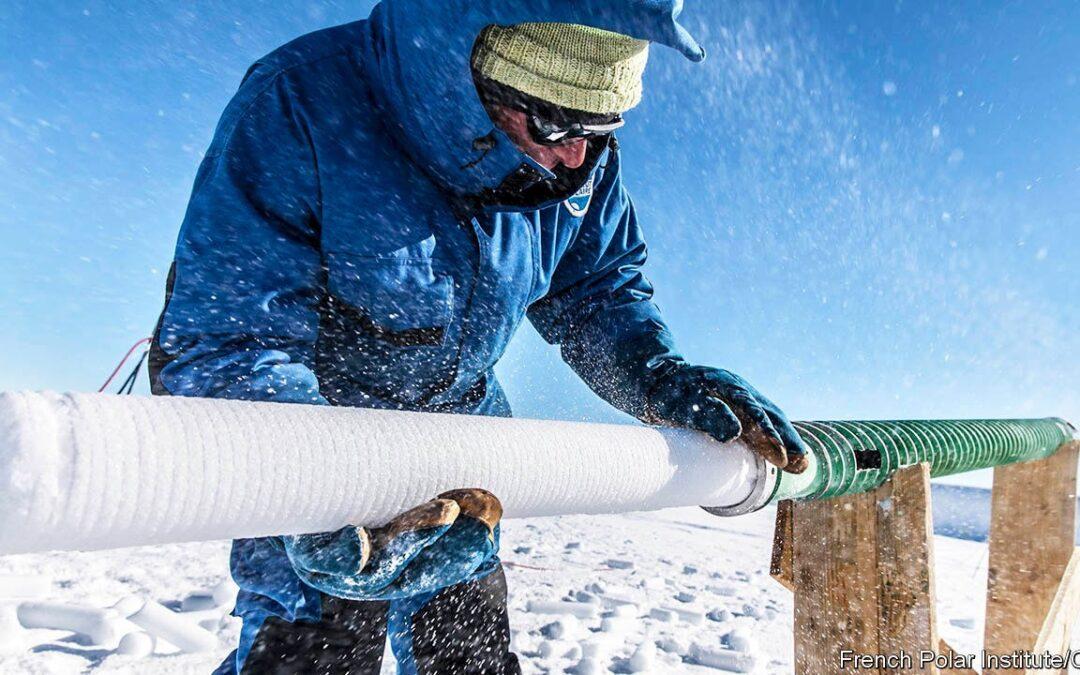 El hielo glaciar: Testigo de nuestro rol en el actual cambio climático