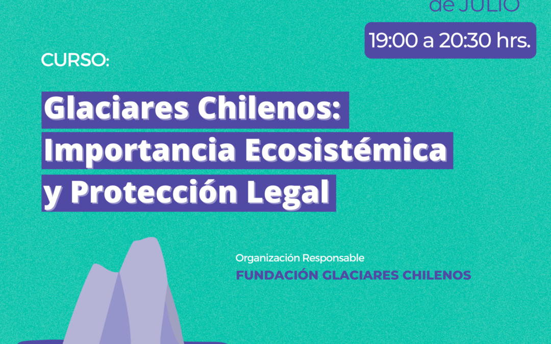 Curso Glaciares Chilenos: Importancia Ecosistémica y Protección legal